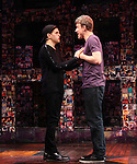 Taylor Trensch & Jason Hite performing in the 'BARE' A first look preview at the New World Stages in New York City on 11/12/2012
