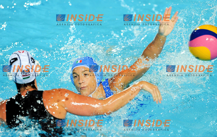Roma 21th July 2009 - 13th Fina World Championships From 17th to 2nd August 2009.Water polo Women's.ITA-HUN.photo: Roma2009.com/InsideFoto/SeaSee.com