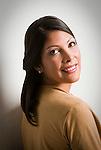Portrait of a young Hispanic woman