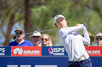 Yu Liu (CHN) during the third round of the ISPS Handa Women&rsquo;s Australian Open, The Grange Golf Club, Adelaide SA 5022, Australia, on Saturday 16th February 2019.<br /> <br /> Picture: Golffile | David Brand<br /> <br /> <br /> All photo usage must carry mandatory copyright credit (&copy; Golffile | David Brand)