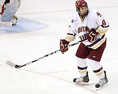 Edwin Shea (BC - 8) - The Boston College Eagles defeated the University of Massachusetts-Amherst Minutemen 5-2 on Saturday, March 13, 2010, at Conte Forum in Chestnut Hill, Massachusetts, to sweep their Hockey East Quarterfinals matchup.