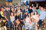 Jason Rogers Clahane Ballyard enjoying his surprise 21st birthday party on Saturday night with friends and family at Gally's Bar