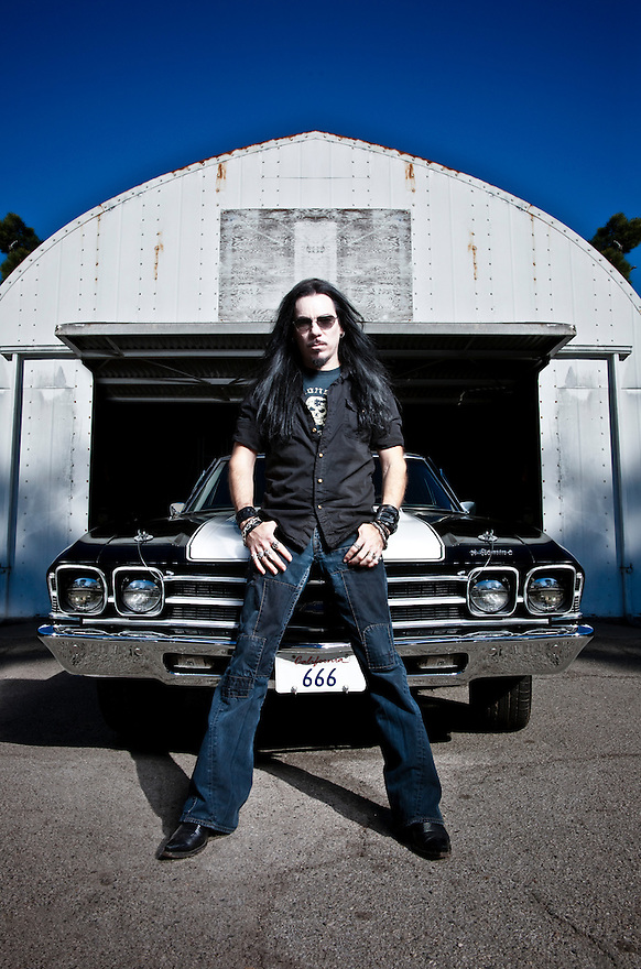 Kevin Robie and his Chevy Hell Camino