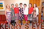 Maria Kavanagh, Brenda O'Connor, Mary Barrett, Mary Fitzgerald, Elizabeth Devane, Mary Greaney and Jacinta O'Hanlon, all retiring from the Dingle Hospital, at their retirement party at the Skellig Hotel on Friday night.