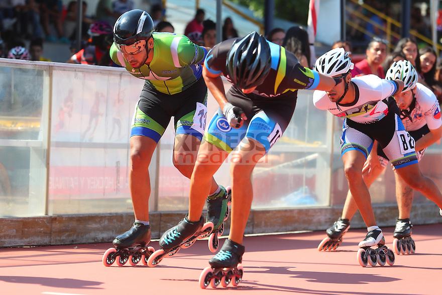 11 Diciembre 2016, Santiago-Chile. Torneo todo competidor del patín carrera que se realizó en el patinódromo del Estadio Nacional. ©Ernesto Zelada - Xpress Media