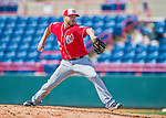 29 February 2016: Washington Nationals pitcher Shawn Kelley on the mound during an inter-squad pre-season Spring Training game at Space Coast Stadium in Viera, Florida. Mandatory Credit: Ed Wolfstein Photo *** RAW (NEF) Image File Available ***