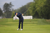 Matthew Fitzpatrick (ENG) on the 5th fairway during Round 3 of the D+D Real Czech Masters at the Albatross Golf Resort, Prague, Czech Rep. 02/09/2017<br /> Picture: Golffile | Thos Caffrey<br /> <br /> <br /> All photo usage must carry mandatory copyright credit     (&copy; Golffile | Thos Caffrey)