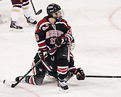 Claire Santostefano (NU - 13), ? - The Boston College Eagles defeated the Northeastern University Huskies 3-0 on Tuesday, February 11, 2014, to win the 2014 Beanpot championship at Kelley Rink in Conte Forum in Chestnut Hill, Massachusetts.