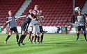 Pars' Callum Morris scores their first goal.