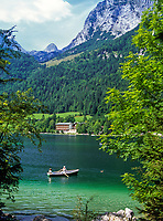 DEU, Deutschland, Bayern, Oberbayern, Berchtesgadener Land, Hintersee bei Ramsau | DEU, Germany, Bavaria, Upper Bavaria, Berchtesgadener Land, lake Hintersee near Ramsau