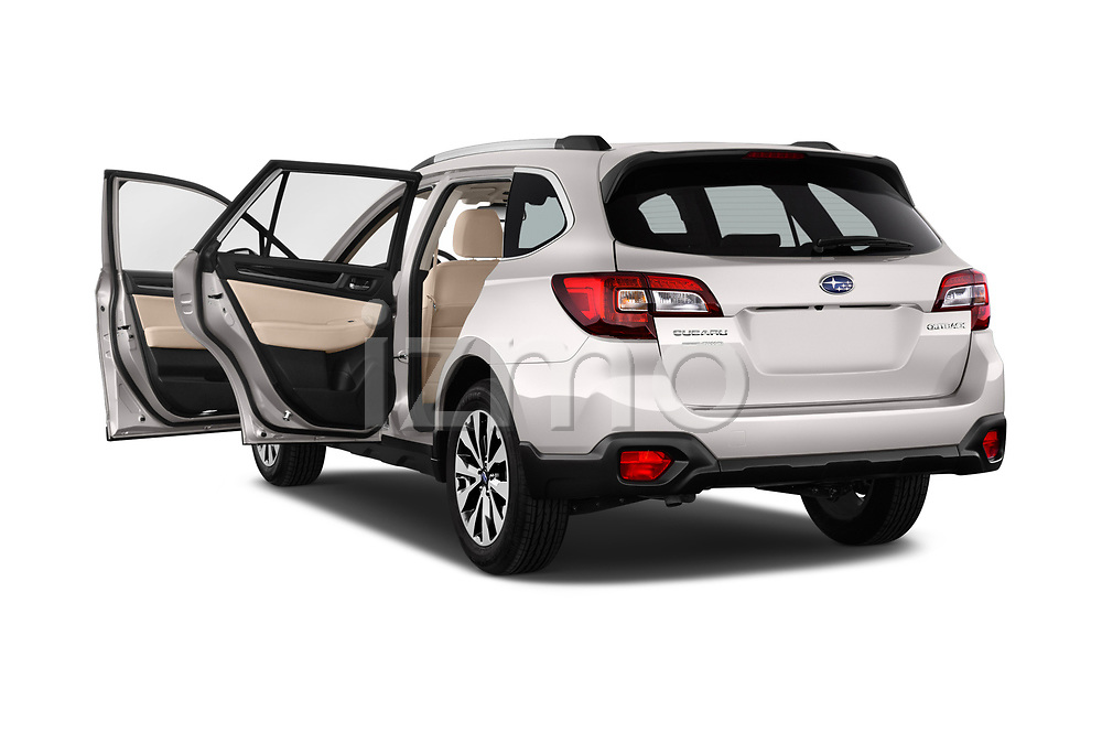 Car images close up view of a 2017 Subaru Outback Premium 5 Door Wagon doors