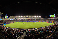 CARSON, CA - SEPTEMBER 21: Dignity Health Sports Park during a game between Montreal Impact and Los Angeles Galaxy at Dignity Health Sports Park on September 21, 2019 in Carson, California.