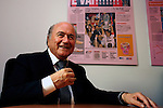 Sepp Blatter alla Gazzetta dello Sport, Milano © Fulvia Farassino