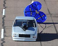 Feb 24, 2017; Chandler, AZ, USA; NHRA top sportsman driver Eddy Plaizier during qualifying for the Arizona Nationals at Wild Horse Pass Motorsports Park. Mandatory Credit: Mark J. Rebilas-USA TODAY Sports