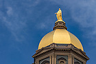 August 18, 2016; Golden Dome (Photo by Matt Cashore/University of Notre Dame)
