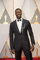 www.acepixs.com<br /> <br /> February 26 2017, Hollywood CA<br /> <br /> Actor Aldis Hodge arriving at the 89th Annual Academy Awards at Hollywood &amp; Highland Center on February 26, 2017 in Hollywood, California.<br /> <br /> By Line: Z17/ACE Pictures<br /> <br /> <br /> ACE Pictures Inc<br /> Tel: 6467670430<br /> Email: info@acepixs.com<br /> www.acepixs.com