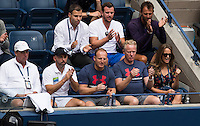 ANDY MURRAY (GBR), TEAM<br /> <br /> TENNIS - THE US OPEN - FLUSHING MEADOWS - NEW YORK - ATP - WTA - ITF - GRAND SLAM - OPEN - NEW YORK - USA - 2016  <br /> <br /> <br /> <br /> &copy; TENNIS PHOTO NETWORK