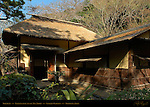 Yokubean Inakaya style Rustic Tea house Sankeien Gardens Yokohama Japan
