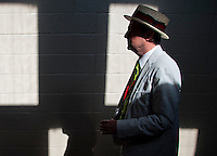 Scenes from Preakness Day at Pimlico Race Course in Baltimore, Maryland on May 19, 2012.