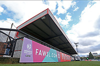 The main stand during Arsenal Women vs Yeovil Town Ladies, FA Women's Super League FA WSL1 Football at Meadow Park on 11th February 2018