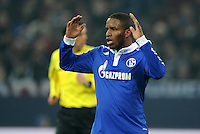 FUSSBALL   1. BUNDESLIGA   SAISON 2011/2012   20. SPIELTAG FC Schalke 04 - FSV Mainz 05                                  04.02.2012 Jefferson Farfan (FC Schalke 04)