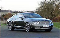 BNPS.co.uk (01202 558833)<br /> Pic: H&amp;H/BNPS<br /> <br /> Bentley Continental GT with only 84,000 miles on the clock - &pound;22,000.<br /> <br /> The &pound;1,000,000 garage sale... a stunning collection of luxury cars seized from the personal collection of a Middle Eastern sheikh has emerged. <br /> <br /> The impressive fleet, comprising Ferrari, Rolls-Royce and Bentley motors, has arrived at auction following a high court ruling against their former owner.<br /> <br /> Due to their unusual history many of the cars, all of which were UK based and have unusually low mileages, are being offered at a bargain price.