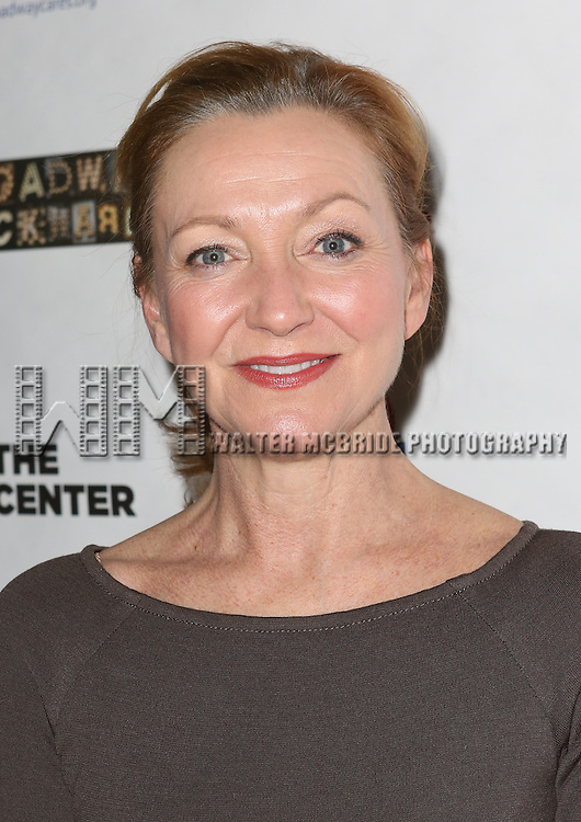 """Julie White attends the """"Broadway Backwards"""" After Party Reception  at John's Restaurant on March 24, 2014 in New York City."""