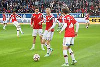 Pierre-Emilie Hojbjerg, Sebastian Rode, Gianluca Gaudino (Bayern)  - Eintracht Frankfurt vs. FC Bayern München, Commerzbank Arena