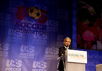 Sunil Gulati. The 2010 US Soccer Foundation Gala was held at City Center in Washington, DC.