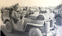 BNPS.co.uk (01202 558833)<br /> Pic: Bosleys/BNPS<br /> <br /> Trooper Casey's photo album - SAS in North Africa.<br /> <br /> Sold for £25,000 - An extraordinary wartime archive that lift's the veil on the earliest days of the SAS during WW2.<br /> <br /> The late Fred Casey was among the original dozen members of the 1st Special Air Service that was formed in North Africa to wreak havoc behind enemy lines.<br /> <br /> The commando's military possessions included a remarkable album containing previously unseen images of the founding members of the elite force.<br /> <br /> Legendary Captain David Stirling, who formed the 'Who Dares Wins' regiment, and hand-picked the men under his command, is pictured along with his controversial deputy Paddy Mayne , who took over the top secret regiment after Stirling's capture.<br /> <br /> The album sold at Bosley's Auctioneers of Marlow, Bucks, last week for over five times its pre-sale estimate..