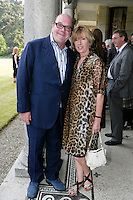 22/6/10 Paul McGuinness and wife Kathy at the British Amabassador's residence at Glencairn House in Sandyford, Dublin. Arthur Carron/Collins