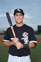 Infielder Nick Madrigal (7), the first round draft pick of the Chicago White Sox in the 2018 MLB Draft, poses for a photo before an Arizona League game against the AZL Athletics at Camelback Ranch on July 15, 2018 in Glendale, Arizona. The AZL White Sox defeated the AZL Athletics 2-1. (Zachary Lucy/Four Seam Images)