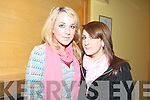 BUDDING ENTREPRENEURS: Attending the Entrepreneur Boot Camp in the Brandon Hotel on Friday were Seana Healy and Sarah Bermingham from Presentation Secondary School in Tralee.    Copyright Kerry's Eye 2008