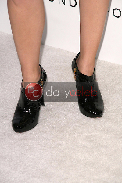 Rachelle Lefevre's shoes<br />at the DIC and Instyle Magazine 8th Annual Awards Season Diamond Fashion Show. Beverly Hills Hotel, Beverly Hills, CA. 01-08-09<br />Dave Edwards/DailyCeleb.com 818-249-4998