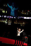 "Sunday, June 24, Raleigh, North Carolina..California evangelist Greg Laurie, brought his ""Harvest Crusade"" to the RBC Center in Raleigh, NC for 3 days of music. prayer and Christian evangelism. Laurie brought together 200 local churches to sponsor the event which used 3000 volunteers and hopes to convert many newcomers to his version of born again Christianity.. Anne Graham Lotz, the daughter of evangelist Billy Graham, spoke at the crusade, which is largely modeled after those of her father."
