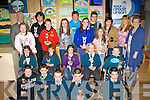 The winners at the Milltown Credit Union art competition who received their prizes in Castlemaine Community Centre on Friday night front row l-r: Michael Burke, Cillian O'Neill, Eugene McCarthy, Patrick Clifford, Josh Delaney. Middle row: Katlyn Griffin, Aoife Poff, Cianna Foley, Mia Stuart, Tadgh Costello. Back row: Tony Powell, Ann Marie Ladden, Sean Murray, Tommy Buckley, Issabelle Moore, Tomas Cronin, Tara Coffey, Jack Leask, Shona Mangan, Emer Moore, Joan and Mary O'Shea..