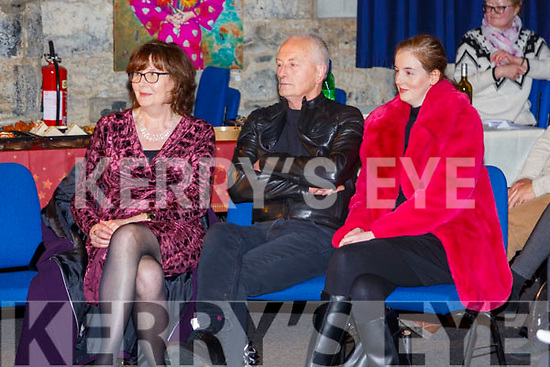 St. John  Thank You: Joe Murphy with his wife Jennifer and daughter Marelle pictured at the Thank You night for Joe who managed St.John's Arts centre in Listowel for 29 years in the centre on Tuesday night last.