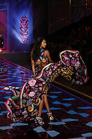 Lais Ribeiro on the runway at the Victoria's Secret Fashion Show 2014 London held at Earl's Court, London. 02/12/2014 Picture by: James Smith / Featureflash