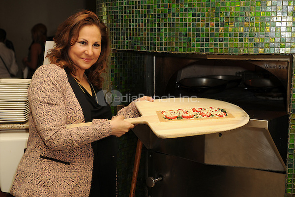 FORT LAUDERDALE FL - OCTOBER 12 : Kathy Najimy attends a PETA event as she Receives an Award for Animal Protection at Sublime Restaurant on October 12, 2014 in Fort Lauderdale, Florida. Credit: mpi04/MediaPunch