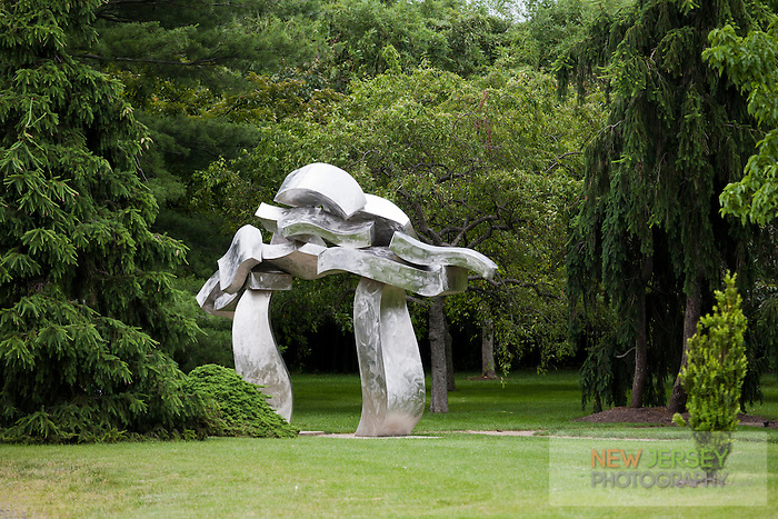 Aluminum Scupture, Grounds for Sculpture, Hamilton, New Jersey