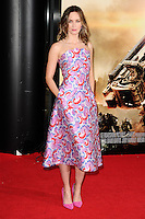 "Emily Blunt arriving for the World premiere of ""Edge of Tomorrow"" at the IMAX London, the first of three premieres around the world for the film in one day. 28/05/2014 Picture by: Steve Vas / Featureflash"