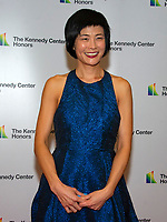 Violinist Jennifer Koh arrives for the formal Artist's Dinner honoring the recipients of the 41st Annual Kennedy Center Honors hosted by United States Deputy Secretary of State John J. Sullivan at the US Department of State in Washington, D.C. on Saturday, December 1, 2018. The 2018 honorees are: singer and actress Cher; composer and pianist Philip Glass; Country music entertainer Reba McEntire; and jazz saxophonist and composer Wayne Shorter. This year, the co-creators of Hamilton, writer and actor Lin-Manuel Miranda, director Thomas Kail, choreographer Andy Blankenbuehler, and music director Alex Lacamoire will receive a unique Kennedy Center Honors as trailblazing creators of a transformative work that defies category.<br /> CAP/MPI/RS<br /> &copy;RS/MPI/Capital Pictures