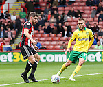 Ched Evans of Sheffield Utd in action during the Championship match at Bramall Lane Stadium, Sheffield. Picture date 16th September 2017. Picture credit should read: Jamie Tyerman/Sportimage