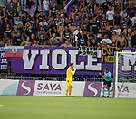 16.08.18 FK Maribor v Rangers: ref with objects thrown at Allan McGregor