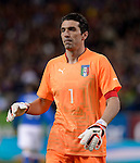 Italy's goalkeeper Gianluigi Buffon during the FIFA friendly football match Spain vs Italy on March 5, 2014 on the eve of their World Cup 2014 at the Vicente Calderon stadium in Madrid.  PHOTOCALL3000 / DP
