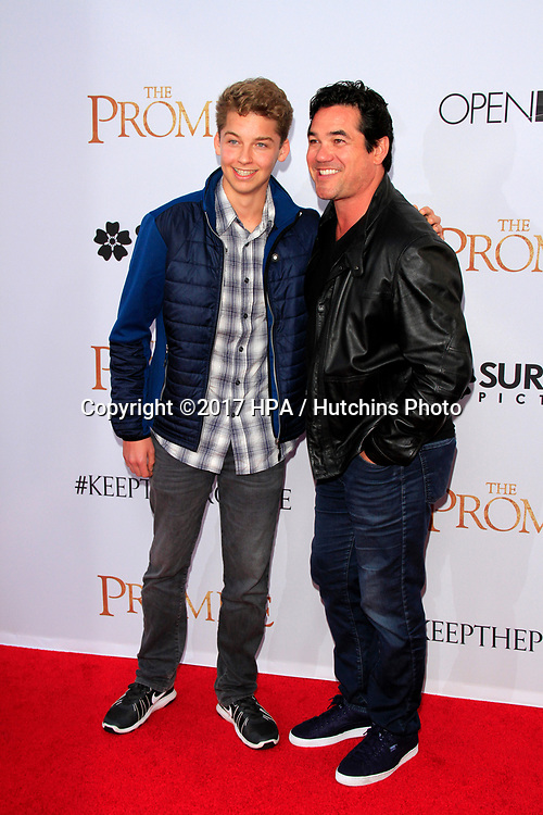 "LOS ANGELES - APR 12:  Christopher Cain, Dean Cain at the ""The Promise"" Premiere at the TCL Chinese Theater IMAX on April 12, 2017 in Los Angeles, CA"