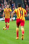 BILBAO.ESPAÑA.FÚTBOL.<br /> Partido de La Liga BBVA entre el Ath.Club y el Barça , a 01/12/2013.<br /> En la imagen :<br /> 6Xavi (FC Barcelona)