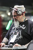 SÃO PAULO,SP, 23.07.2016 - TATTOO-WEEK - João Gordo, vocalista da banda Ratos de Porão durante o Tattoo Week no Expo Center Norte - Pavilhão Azul na região norte de São Paulo neste sábado, 23. (Foto: Marcio Ribeiro/Brazil Photo Press)