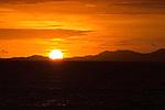 Sun setting over the islands in Fiji