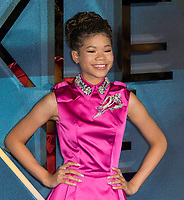 Storm Reid attends A WRINKLE IN TIME European Premiere - London, UK  March 13, 2018. Credit: Ik Aldama/DPA/MediaPunch ***FOR USA ONLY***